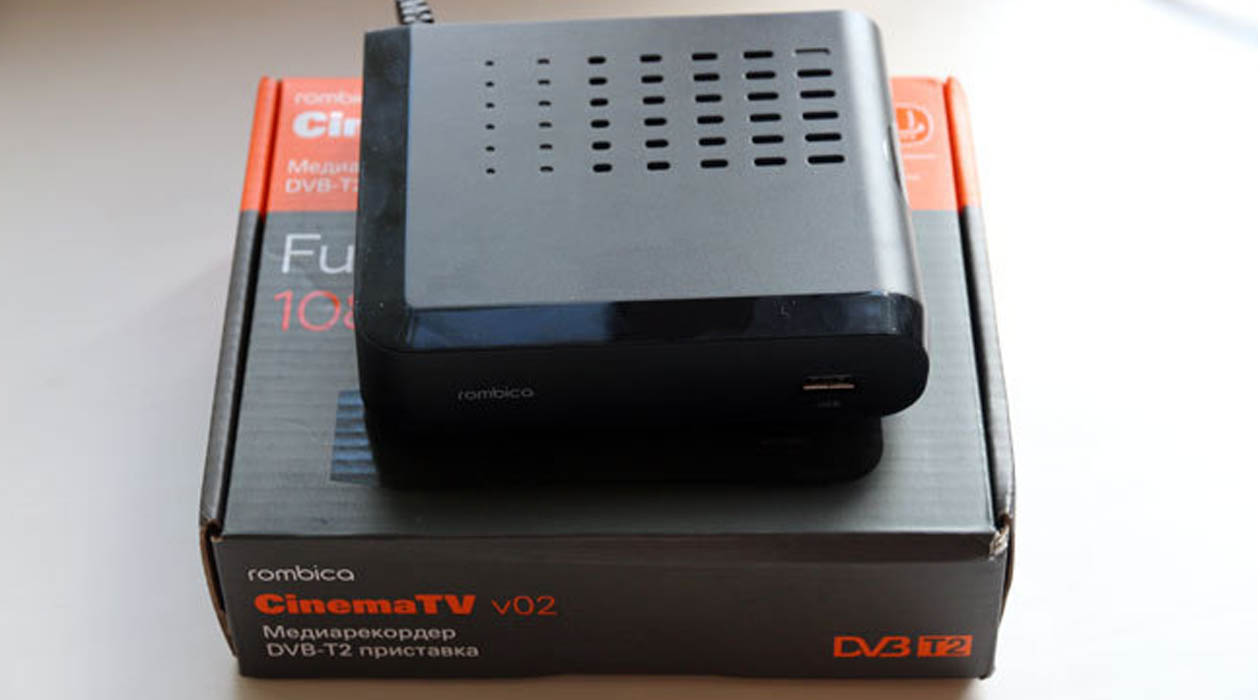 Обзор Rombica CinemaTV v02. DVB-T2 приставка за приемлемую цену