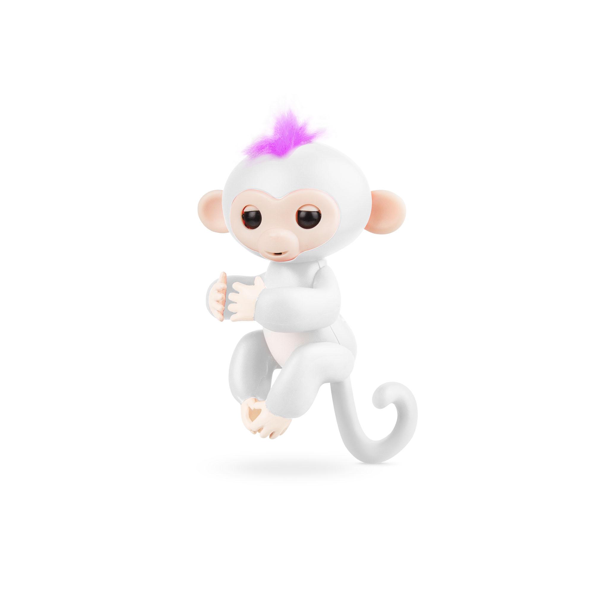 Rombica Finger Monkey White